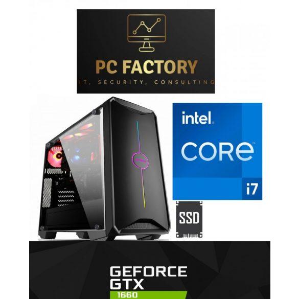 PC FACTORY INTEL_11.Gen_GAMER 01 Intel Core i7-10700F/32GB DDR4/1TB SSD/GTX 1660 6G)