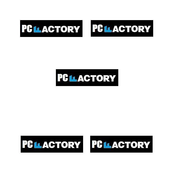 PC FACTORY 8.GEN OFFICE MASTER 5év Garancia (i3 8100/8GB DDR4/1TB/120GGB SSD/DVD RW)_
