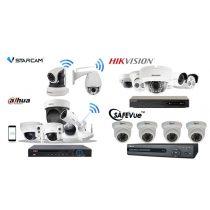 2 MP-es 8 kamerás FULL HD IP POE Kamerarendszer kiépítéssel, telepítéssel.