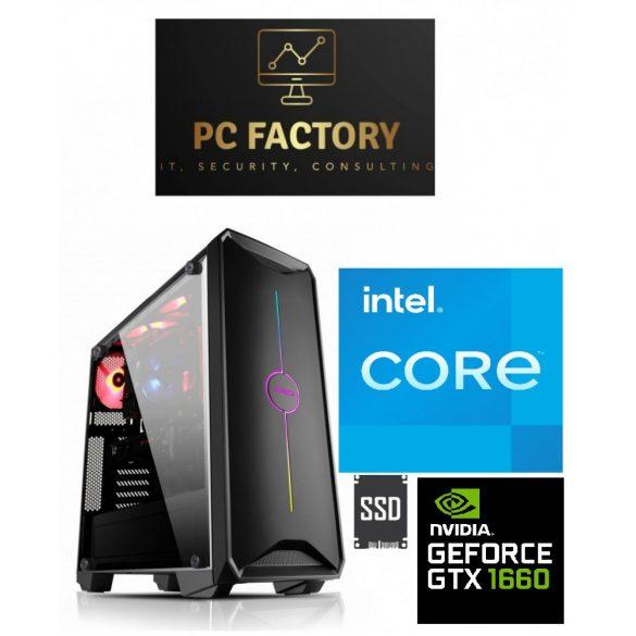 PC FACTORY INTEL_11.Gen_10(Intel Core i7-10700F/32GB DDR4/1TB SSD/GTX 1660 6G)