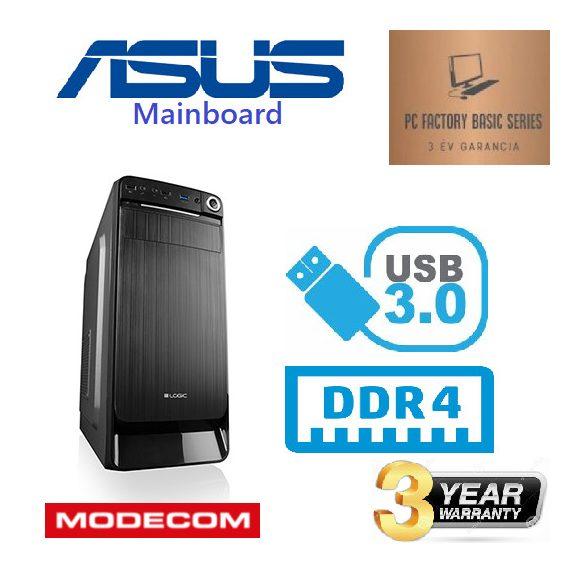 PC FACTORY BRAND 01 (ASUS ALAPLAP/i3 10100F/8GB DDR4/240SSD/GT710 2GB)